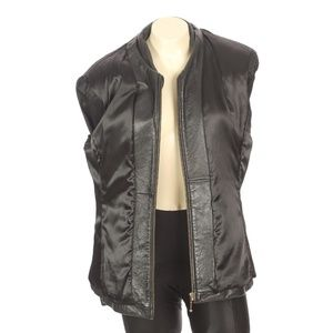 Wilsons Leather Jackets & Coats - Wilsons Leather Black Heavy Leather Jacket Coat